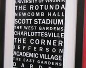 University of Virginia Bus Roll Art Print (Digital)