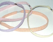 Headband Stretch Shimmer Pastel Colors Only Shop On Etsy HandMade Buy 1 or 2 Today