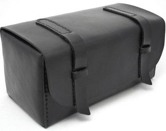 Leather Dopp Kit - Black