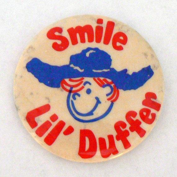 Lil' Duffer Advertising Pin