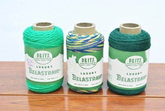 Vintage Belastraw Yarn By Dritz