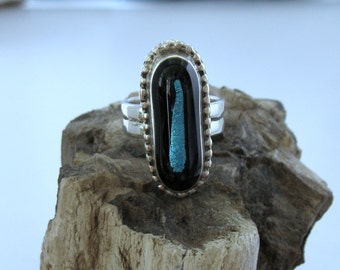 Sterling silver ring, one of a kind