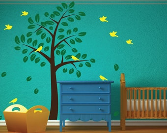REUSABLE Childrens Tree Wall Decal - T101SWA