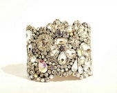 Custum Listing for Alison Old Hollywood Crystal Cuff