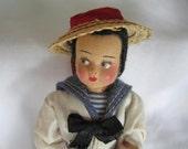 Italian Gondolier Doll