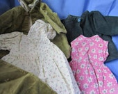 Collection of Vintage Dolls Clothes