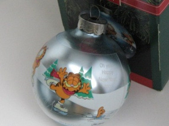 Vintage Christmas Garfield Hallmark Keepsake 1990