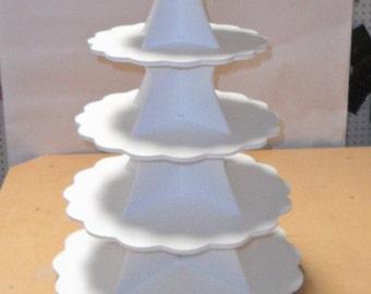 5 Tier Cake / Cupcake Stand PVC