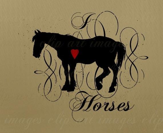 horse lovers clip art - photo #28