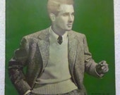 1940 Vintage Magazine - Men's Sweaters - From The Spool Cotton Compay Book No. 148