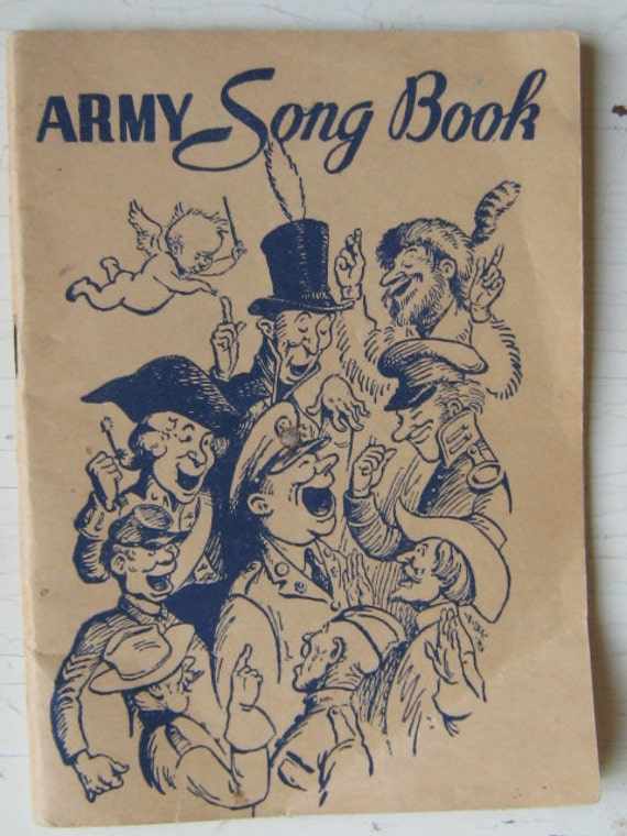 1941 Army Song Book
