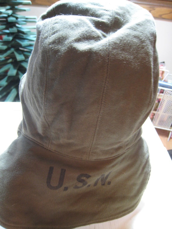 Navy Cold Weather Deck Hat 1950s