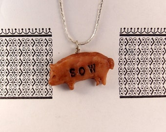 Sexy Sow Necklace MATURE
