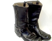 RESERVED for ROGERS----- Vintage Men's Motorcycle Boots