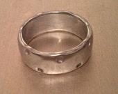 Aluminum ring - Size 9 1/2