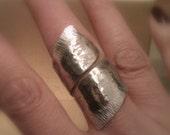 Aluminum ring - Size 8