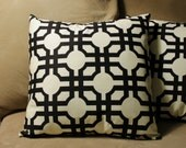 "Pillow Cover - envelope-style - custom-made for you - 18"" square - you choose fabric"