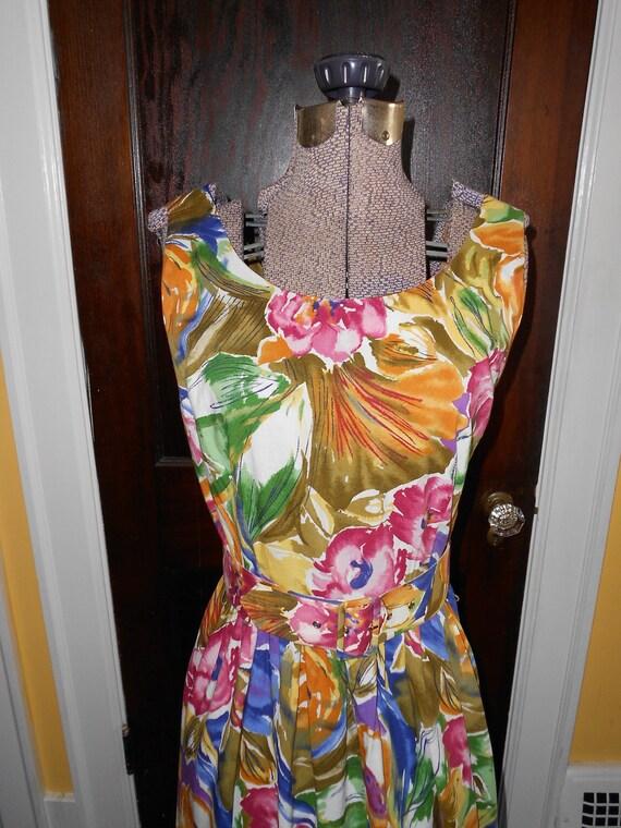 CLEARANCE Banana Republic Floral Watercolor Sundress sz 8 Medium