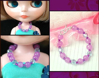 doll jewelry set doll necklace and earring
