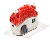 Handmade & painted miniature house No.21