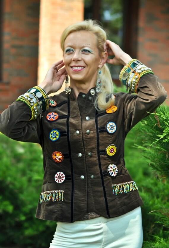 Ethnic Clothing Tribal Clothing Hippie Clothing Womens JACKET Ethnic Tribal Gypsy Clothing Kuchi