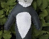 Donnie Darko Frank Rabbit Bunny Felt Handmade Plush Toy