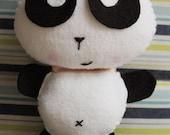 Little Baby Blushing Panda Felt Plushie Toy