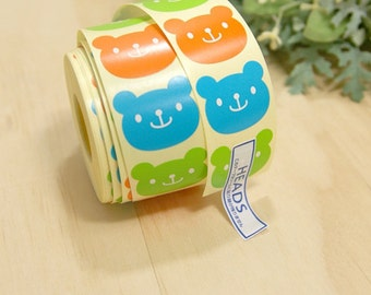 Decoration Point Sticker Cute Bear(36pcs)