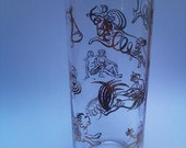 astrological sign glass