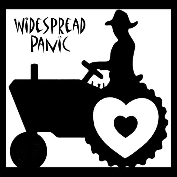 Widespread Panic Sticker Love Tractor By Jennshepart On Etsy