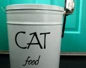 Pet Food Storage Tin