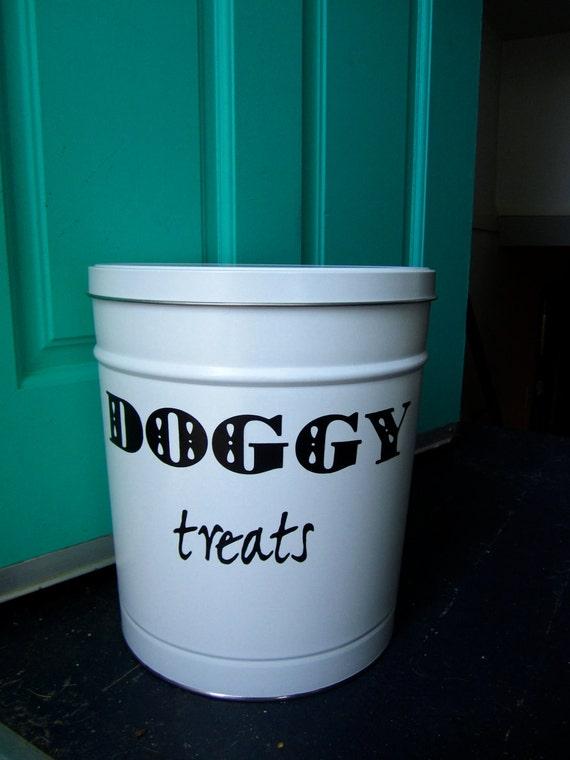Pet Food Storage Tin- small size
