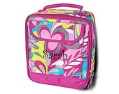 So Ho Swirl Lunch Tote personalization included