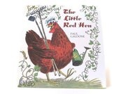The Little Red Hen Children's Book, Paul Galdone, Published 1973