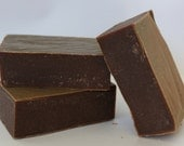 Handmade Chocolate Soap - Fragrance Free
