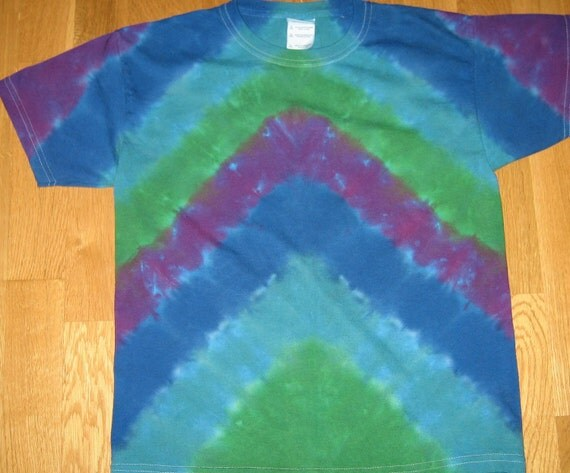 Tie Dye T Shirt Youth Large