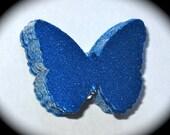 Beautiful Blue Metallic Butterfly Stickers