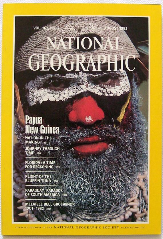 National Geographic Magazine August 1982 By Literarymischief