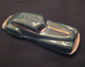 Green Ceramic Car