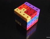 Elevator puzzle cube by Jos Bergmans