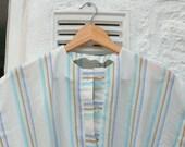 Isle of Tea Vintage Classic 70s Stripes Dress Sz 10 12