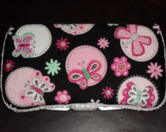 Butterfly Theme Baby Wipes Case