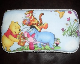 Blue Winnie the Pooh Baby Wipes Case