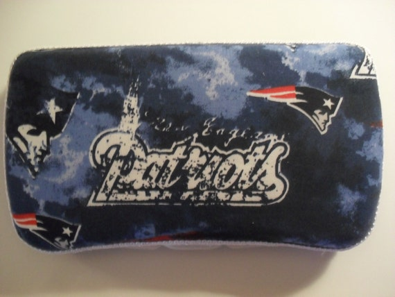 Red White And Blue New England Patriots Baby Wipes Case
