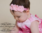 Baby Headband..Pink Baby Headband..Newborn Headband..Infant Headband..Baby Girl Headband..15% Off ur order
