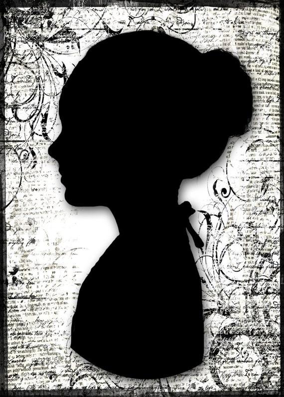 Custom Silhouette - Profile based on your digital photograph