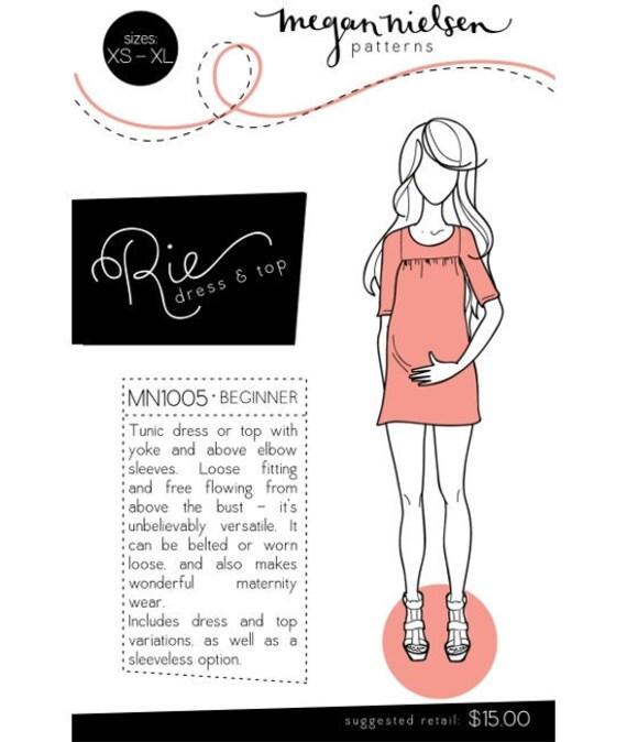 Rie Dress Pattern by Megan Nielsen