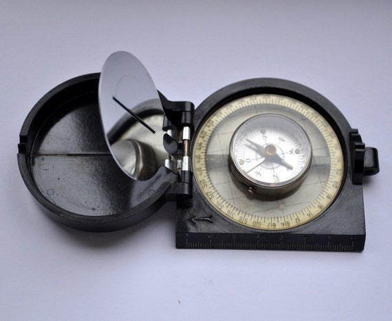 Vintage military Compass V.Stein. WW2 era.