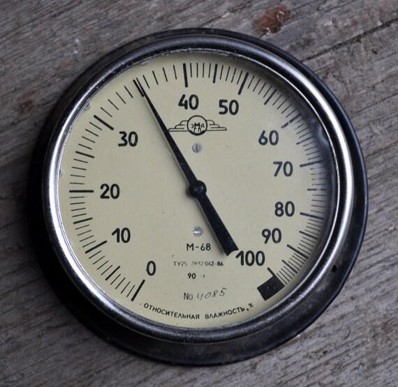 Vintage Soviet Barometer.