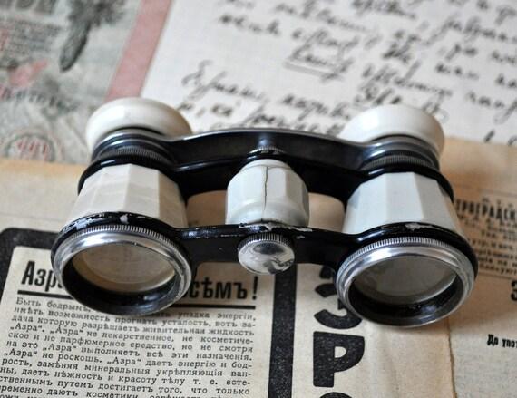 Vintage Soviet opera glasses,binoculars.
